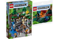 LEGO® Minecraft 2er Set: 21169 Das erste Abenteuer +...