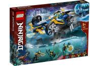 LEGO® 71752 NINJAGO Ninja-Unterwasserspeeder, U-Boot...