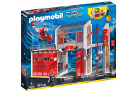 PLAYMOBIL® 2er Set: 9462 Große Feuerwache +...