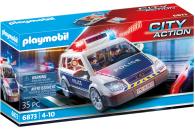 PLAYMOBIL® 2er Set: 6873 Polizei-Einsatzwagen + 6878...