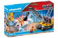 PLAYMOBIL® 2er Set: 70442 Seilbagger mit Bauteil +...