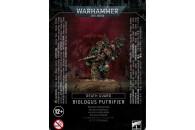 Warhammer 40,000 Chaos Space Marines Death Guard Biologus...