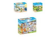 PLAYMOBIL® 3er Set: 70192 Kinderkrankenzimmer + 70193...
