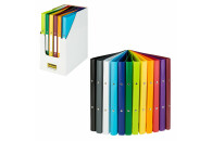 Idena Display Ringbuch A4 12er sortiert 2 Ringe