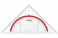 HELIT Geo-Dreieck Linear 16cm Maped Geo-Flex