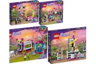 LEGO® Friends 4er Set: 41686 Magische Akrobatikshow +...