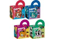 LEGO® DOTS 4er Set: 41927 Taschenanhänger Hund +...
