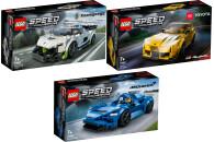 LEGO® Speed Champions 3er Set: 76900 Koenigsegg Jesko...