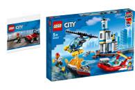 LEGO® City 2er Set: 30361 Feuerwehr-Buggy + Police...