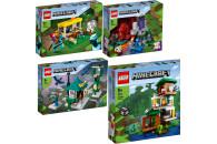 LEGO® Minecraft™ 4er Set: 21171 Der Pferdestall...