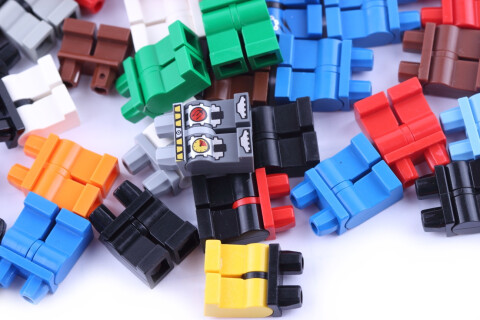 gemischt LEGO® 15 Stück Beine Hosen zufällig ausgewählt Konvolut