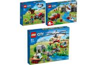 LEGO® City 3er Set: 60300 Tierrettungs-Quad + 60301...