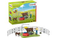 Schleich Farm World Kuh Waschstation