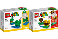 LEGO® Super Mario 2er Set: 71392 Frosch-Mario Anzug +...