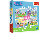 Trefl Puzzle Peppa Pig 4-in-1 ab 3 Jahren