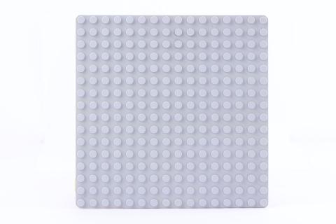 LEGO® Bauplatte 16x16 Noppen hellgrau Grundplatte