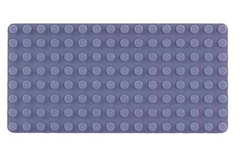 LEGO® Bauplatte 8x16 graue Grundplatte - dunkelgrau