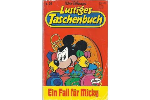 """Walt Disneys Lustiges Taschenbuch LTB 76 """"Ein Fall für Micky"""" 1988"""