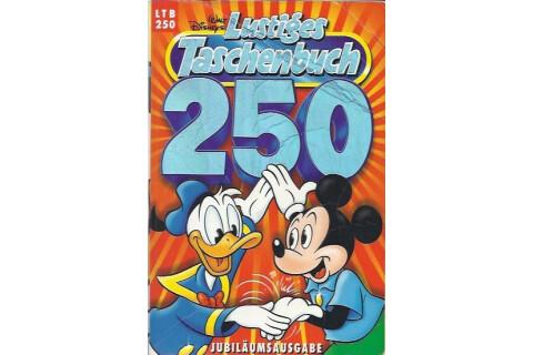 """Walt Disneys Lustiges Taschenbuch LTB 250 """" 250 Jubiläumsausgabe"""" 1998"""