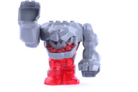 LEGO® Figur Tremorox Power Miners Rock Monster 9 cm groß Neon-Rot mit 2 Krystallen pm016