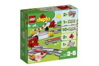 LEGO® 10882 DUPLO Town Eisenbahn Schienen, Bauset mit...