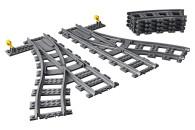 LEGO® 60238 City Weichen, 6 Elemente, Erweiterungsset