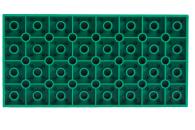 LEGO® Bauplatte 8x16 grüne Grundplatte beidseitig bespielbar (ca. 1 cm hoch)