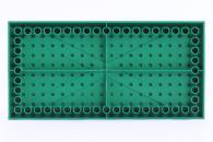 LEGO® Bauplatte 10x20 grün Grundplatte mit Kanten (hoch)