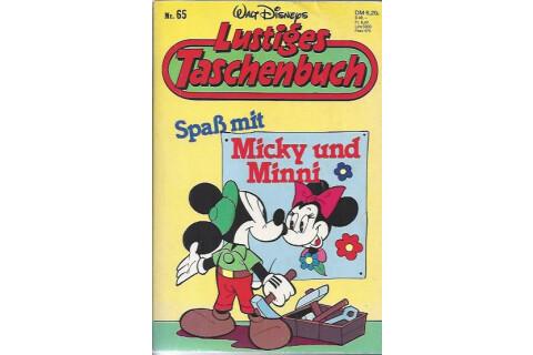 """Walt Disneys Lustiges Taschenbuch LTB 65 """"Spass mit Micky und Minni"""" 1989"""