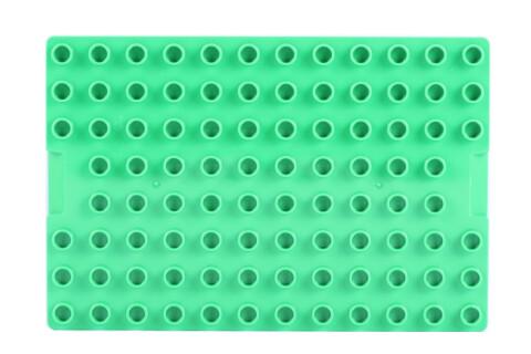 LEGO® DUPLO® Bauplatte Spezialplatte grün 12x8 Noppen mit hohen Kanten