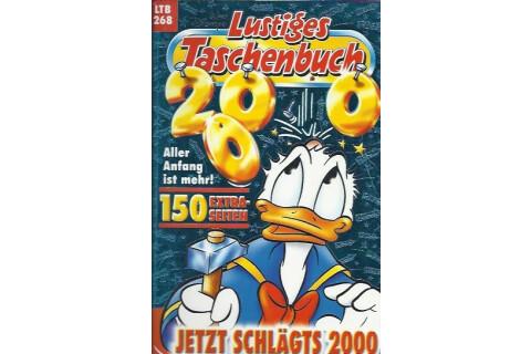 """Walt Disneys Lustiges Taschenbuch LTB 268 """"Jetzt schlägts 2000"""" 2000"""