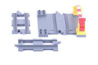 LEGO® DUPLO® Eisenbahn Bahnübergang - Ergänzung, Zubehör-Set