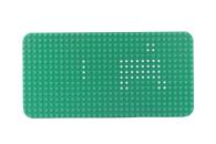 LEGO® Bauplatte 16x32 grün Grundplatte runde...