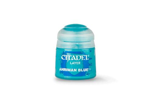 Citadel Farbe - Layer Ahriman Blue (12ml) 22-76