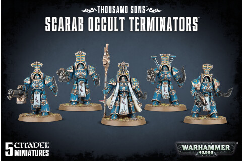 Warhammer 40.000: Thousand Sons Scarab Occult Terminators 43-36