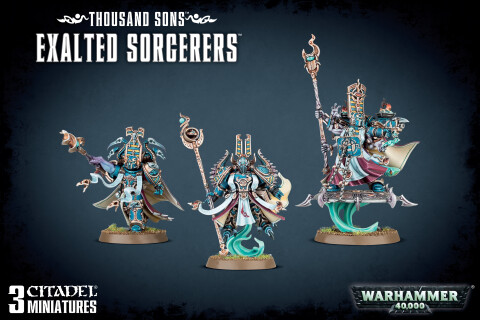 Warhammer 40,000: Thousand Sons Exalted Sorcerers