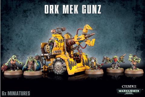 Warhammer 40,000 Orks Ork Mek Gun 50-26
