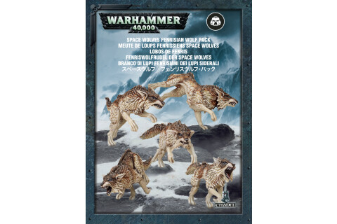 Warhammer 40000 Space Wolves Fenrisian Wolf Pack 1749