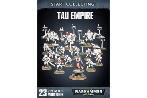 Warhammer 40.000: Tau Empire Start Collecting! 70-56