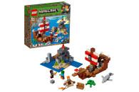 LEGO® Minecraft™ 2er Set: 21151 Das letzte Gefecht + 21152 Das Piratenschiff-Abenteuer