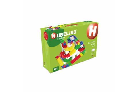 Hubelino Basis Baukasten für die Kugelbahn 420480 (123-teilig)