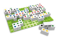 Domino + Vier gewinnt 410054 Hubelino Lernspiele