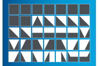 Tangram Lernspiel mit Hubelino Bauklötzen 410061
