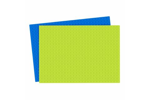 Hubelino Grundplatte blau 420329 560er Bauplatte für die Kugelbahn