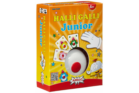 Halli Galli Junior Kinderspiel für 2-4 Spieler ab 4 Jahren
