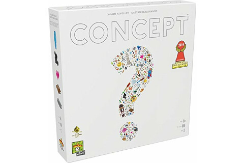Concept - Familienspiel für 4-16 Spieler ab 10 Jahren