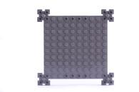 LEGO® Bauplatte Spezialplatte dunkelgrau 12x12 Noppen mit Kanten (30645)