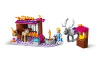 LEGO® 41166 Disney Frozen Die Eiskönigin 2 Elsa und die Rentierkutsche, Spielzeug für Kinder ab 4 Jahre, mit 2 Rentieren, Mini-Puppe und Bauplatte