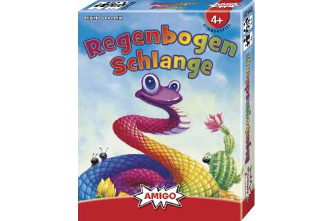 Regenbogenschlange Kartenspiel ab 4 Jahren von Amigo
