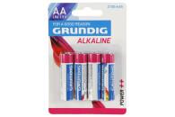 4 GRUNDIG-Alkaline Batterien AA/LR6 1,5V